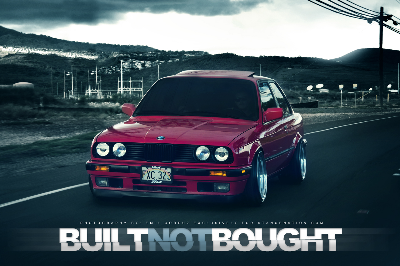 Built Not Bought Bmw E30 Evenements Et Preparations Internationales Motors Tn