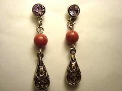 vendido (In-Vestida Jias de montagem e bijuterias) Tags: brinco brincos pedras acessrios bijuterias pedrasnaturais brincodepedras