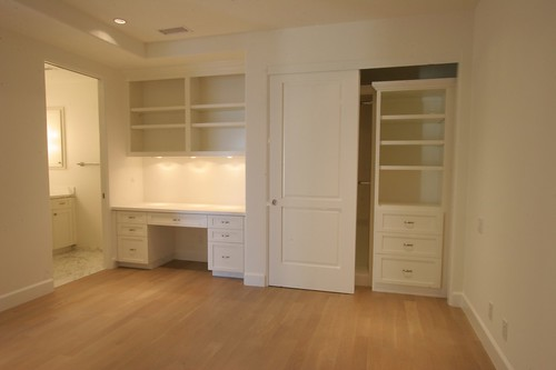 Vanity, Desk and Closet