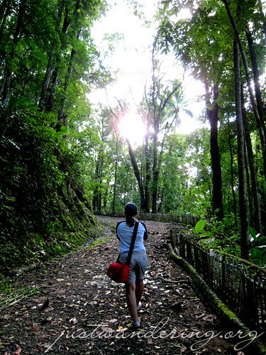 Going up Manduyog Hill