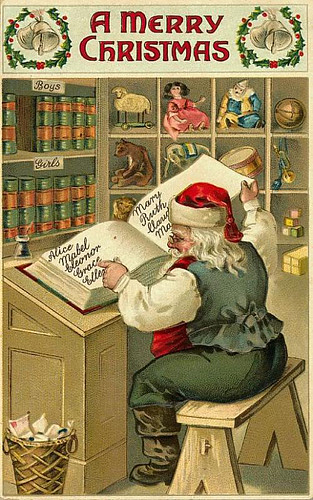 Santawithlist