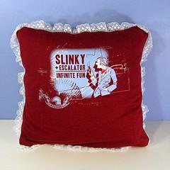 Slinky pillow