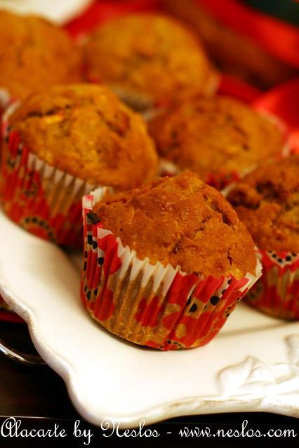 Elmalı muffin 1