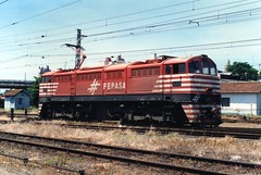 FPM1083 Locomotiva Fepasa 6352 'Vandeca' (Fernando Picarelli Martins) Tags: brazil brasil railway 1967 locomotive ge generalelectric ferrovia fepasa locomotiva electriclocomotive locomotivaelétrica ferroviapaulistasa vandeca classecc brazilianrailway fepasanº6352