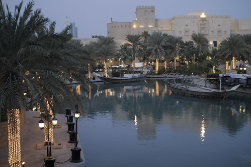 Madinat Arena, twilight