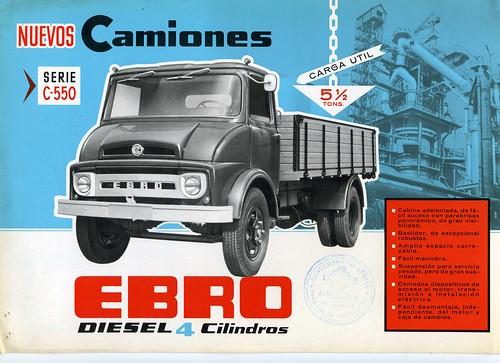 EBRO C 550
