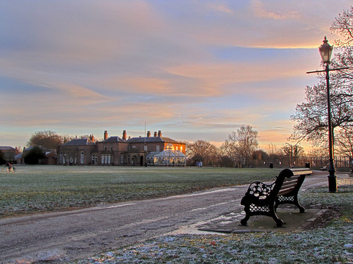 Preston Hall Sunrise