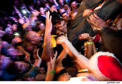 Method Man crowd-surfing - Wu-Tang Clan @ Sonar