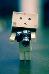 "My new camera (darktiger) Tags: christmas japanese robot cool interesting funny holidays bokeh joy manga gifts cardboard presents suite yotsuba danbo revoltech danboard cardbo ""actionfigure"" ""happyholidays"" ""joyofchristmas"""