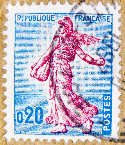beautiful french stamp Briefmarke 0,20 timbre Francaise France Frankreich RF Postes francaise Marianne postage revenue porto francobolli bollo sello marke marka franco timbres Frankreich Briefmarken