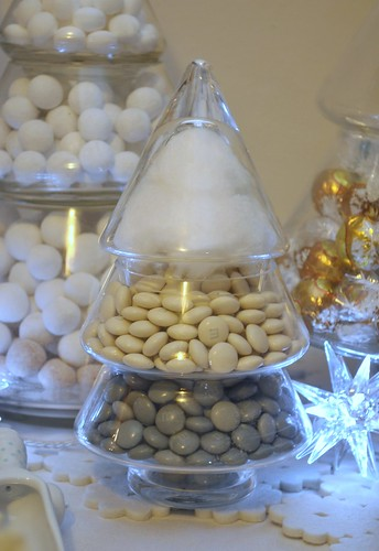 Christmas tree candy jar