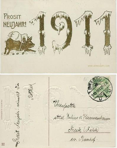 Prosit Neujahr 1911