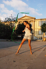 Freedom. (rae.joanna) Tags: playing cyprus nicosia summer exploring photograph art youth girl