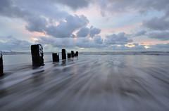Llanw (Helen Iles) Tags: sea snow wales nikon long exposure sigma 1020 tides barmouth d90