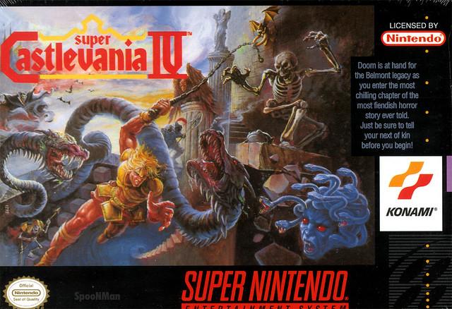 Super Nintendo - Castlevania 4