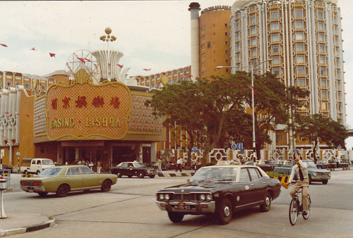 map of hong kong and macau. Casino and Hotel Lisboa. Macau