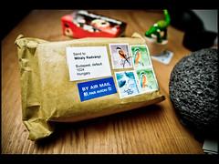 eBay Pack (r.miska) Tags: coffee nikon ebay sigma pack crocodile 365 pocket softbox f28 2010 d60 miska 14mm strobist 3652010 2010365 rmiska