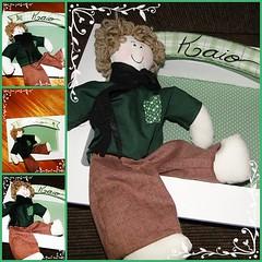 PINDURADOR (bazar do patchwork) Tags: caixa patchwork em almofada tecido lembrancinhas