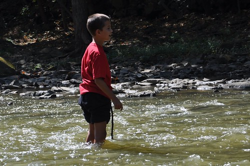 Exploring the Scioto River with Carson