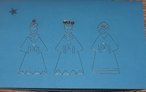 Three Wise Men, Ephiphany Card