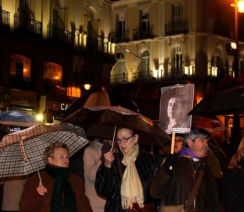 Concentración contra la impunidad del Franquismo (30/12/2010)