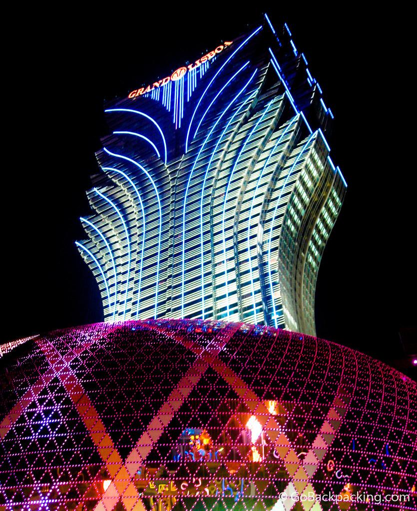 Grand Lisboa casino in Macau