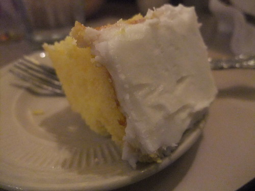 Yellow Cake at TAT Ristorante