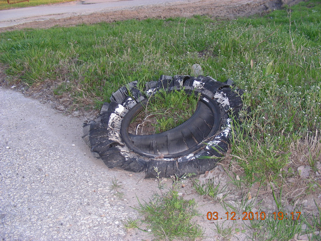 A Used Tire = One Gallon of Oil...
