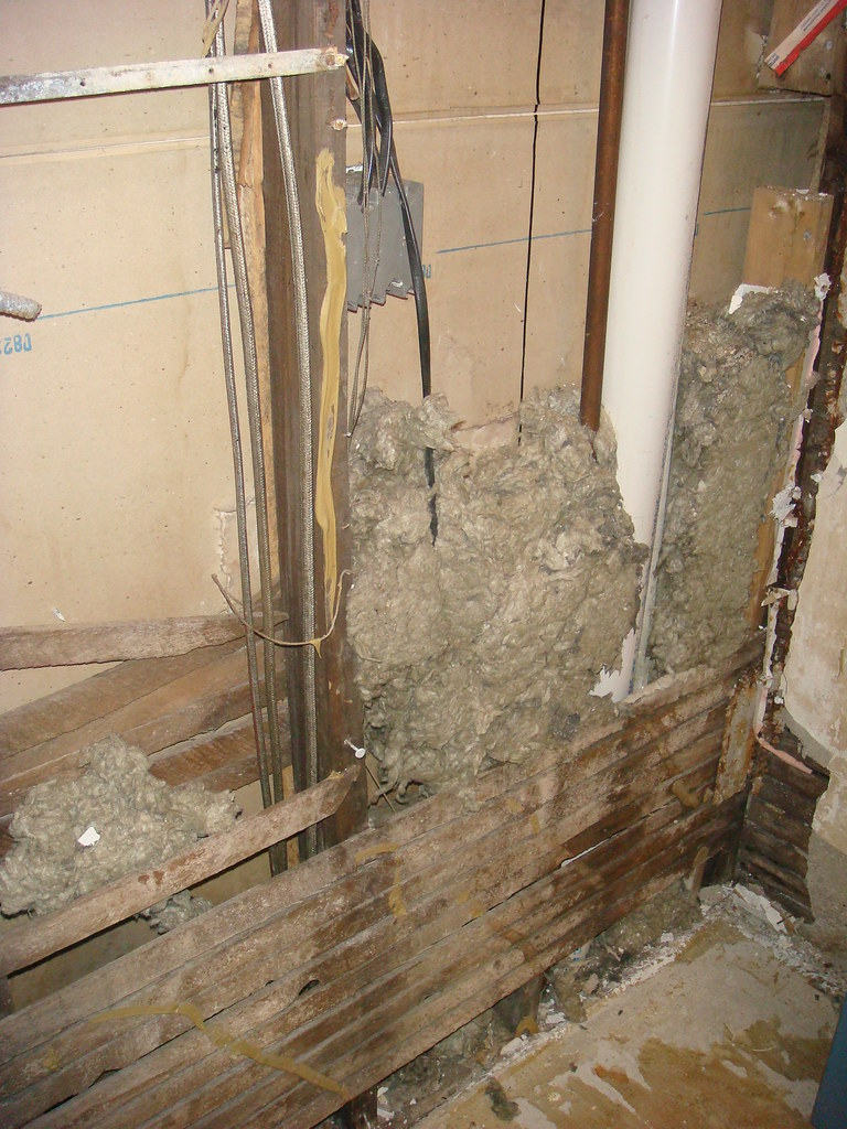 The world 39 s newest photos of notasbestos flickr hive mind for Blown in mineral wool insulation