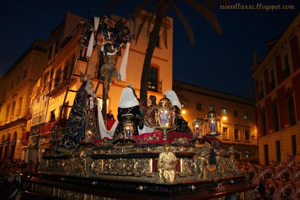 Misterio de la Quinta Angustia, Jueves Santo 2007