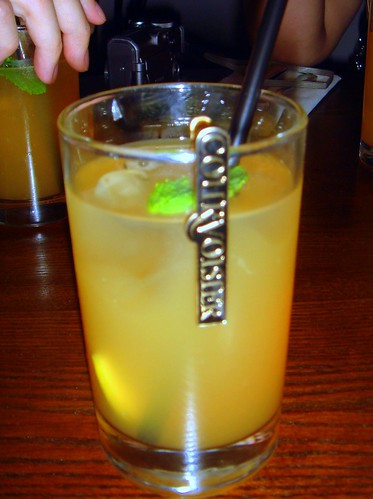 Josephines Tea Garden (Courvoisier Exclusif punch with green tea, apple juice, elderflower cordial, fresh mint, citrus wedges)