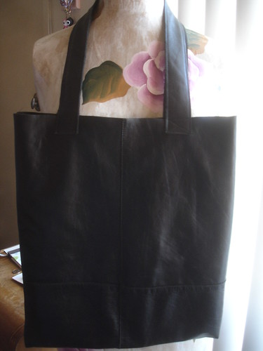 After - Leather Tote Bag