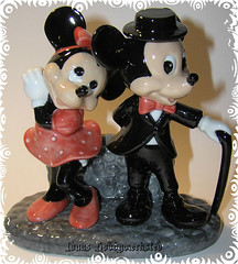 Minnie & Mikke 1 (Hobby Gommo) Tags: animal mouse paint handmade porselen disney mus minnie figur dyr mikke glasur porceln glasered glasert