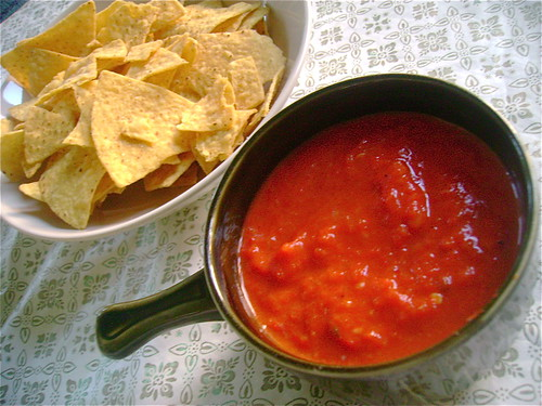 ZOMG Roasted Bell Pepper Salsa (Tomato-Free!)