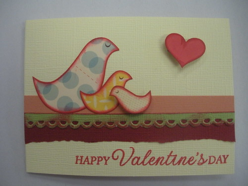 Bird Valentine's Card 1