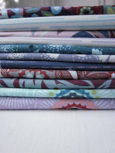 Postage stamp fabrics