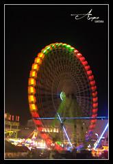 (Acaymo Santana) Tags: show color wheel night fun noche nikon feria fiestas parties attraction noria diversion rotate atraccion girar