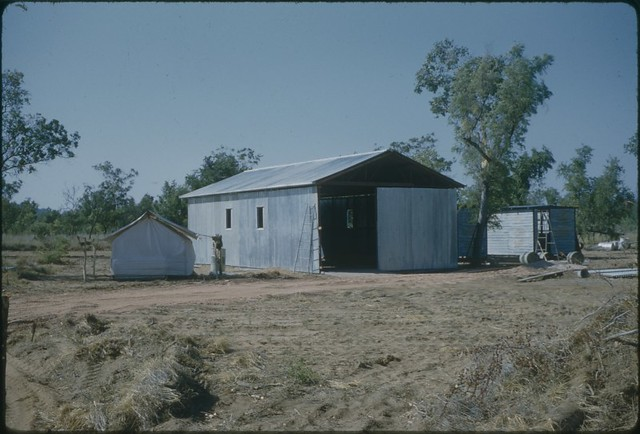 "1959-11 - Town - ""First Building - Government Office Nov 1959"""