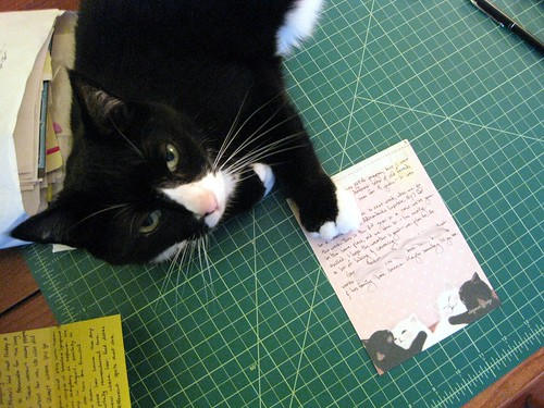 Soda lays claim to my letter