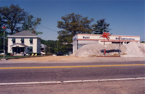 Mobil Gas Station 198? Maine or New Hampshire 1