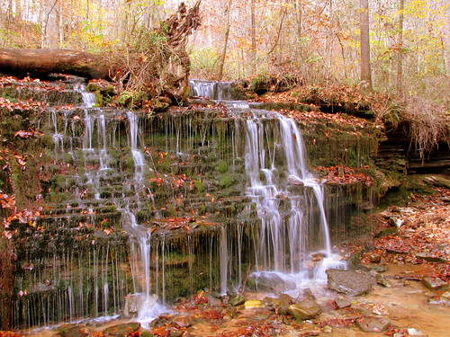 City Lake Falls - Cookeville, TN