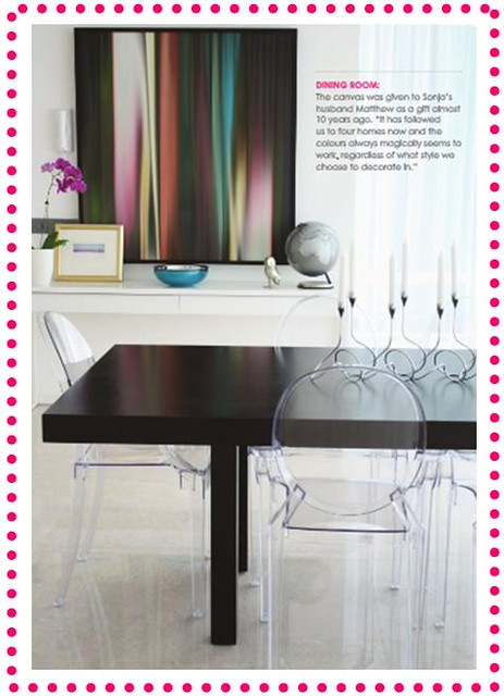 Adore Magazine - Dining Room