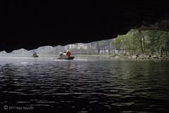 Tam Coc - Ninh Binh (Nganguyen) Tags: travel trees people nature water hat landscape boat asia cone culture lifestyle vietnam destination cave southeast indochina ecotourism ninhbinh tamcoc tiver gettyimagessoutheastasiaq1