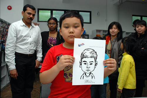 Caricature live sketching for Snow City - Day 8 - 15