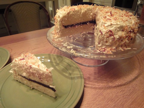 New Year's Coconut Cake