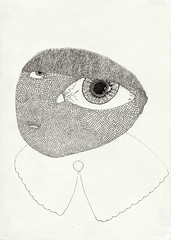 (bezembinder) Tags: drawing tekening rotring bezembinder fineliner
