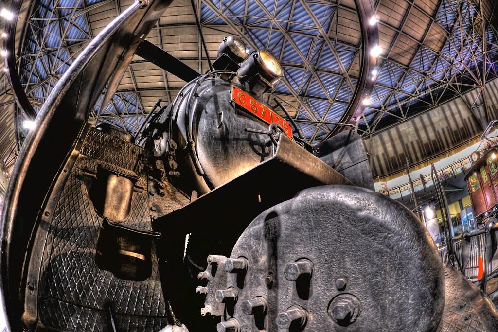蒸気機関車C57135