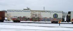 journe into dementia (feck_aRt_post) Tags: robert train graffiti rip rail freight dementia rauschenberg benching rollby journe bnsf793160