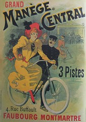 Vintage Bicycle Posters: Grand Manège Central