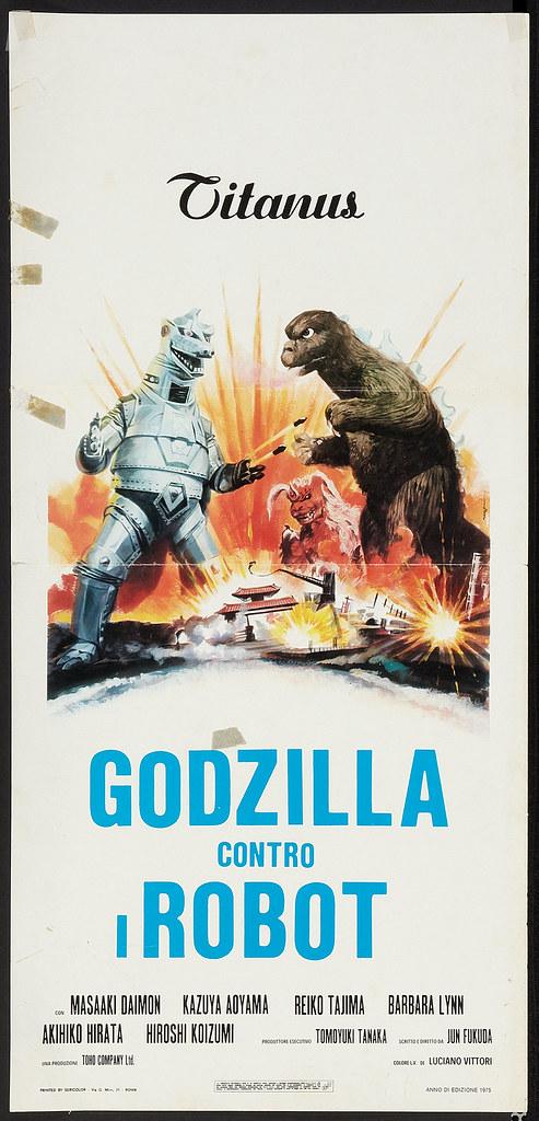 Godzilla vs. Mechagodzilla (Titanus, 1975). Italian